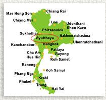 Ayutthaya   Thailand จังหวัดพระนครศรีอยุธยา