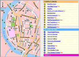 Maps of Bangkok
