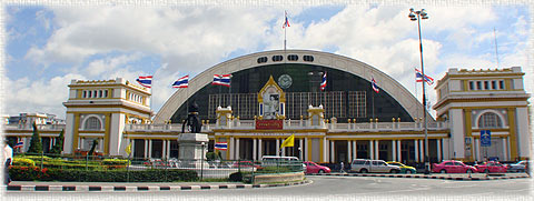 Hua Lam Phong Main Railway Station Bangkok